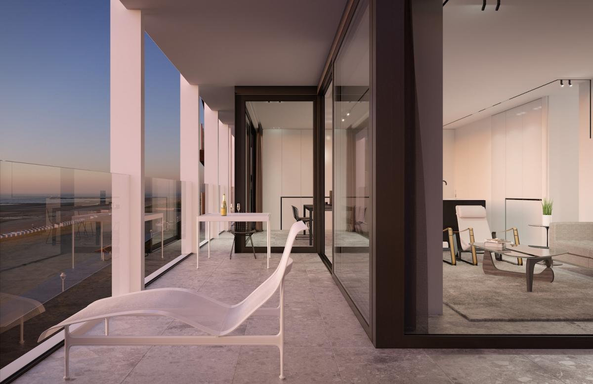 Interieur vs Exterieur - Nieuwbouw Appartementen te koop op de ...